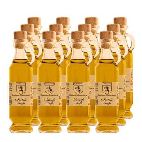 olio aromatizzato al tartufo